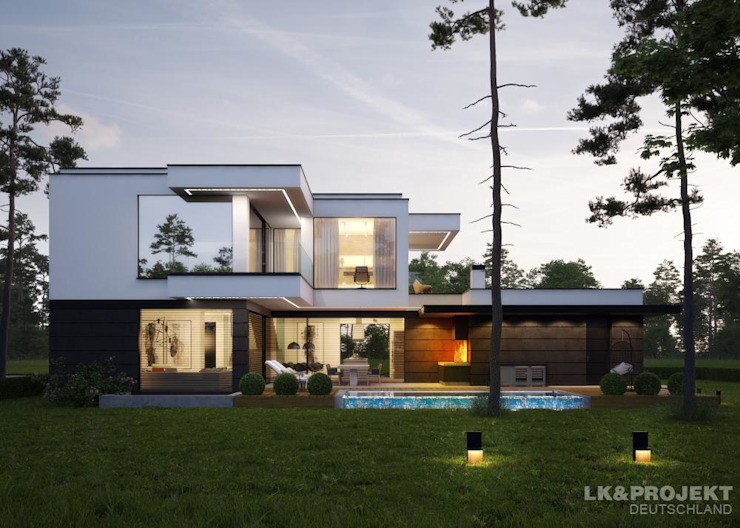 Бассейн в стиле модерн от LK&Projekt GmbH Модерн