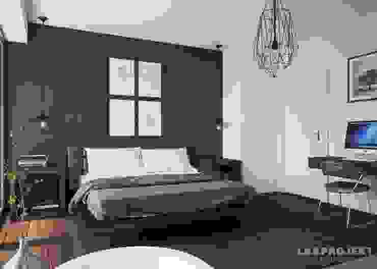 غرفة نوم تنفيذ LK&Projekt GmbH,