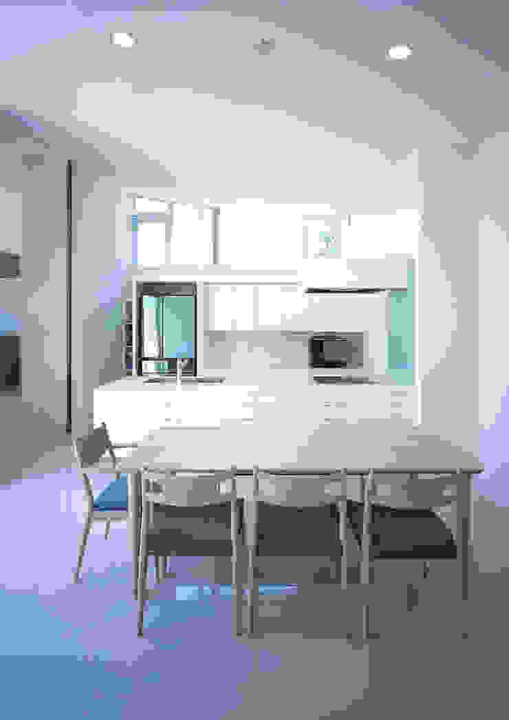 薩摩川内の住宅 モダンな キッチン の アトリエ環 建築設計事務所 モダン