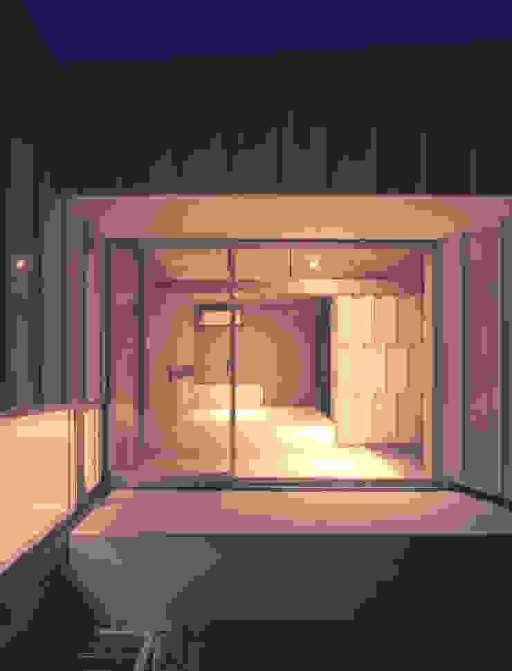 薩摩川内の住宅 和風デザインの テラス の アトリエ環 建築設計事務所 和風