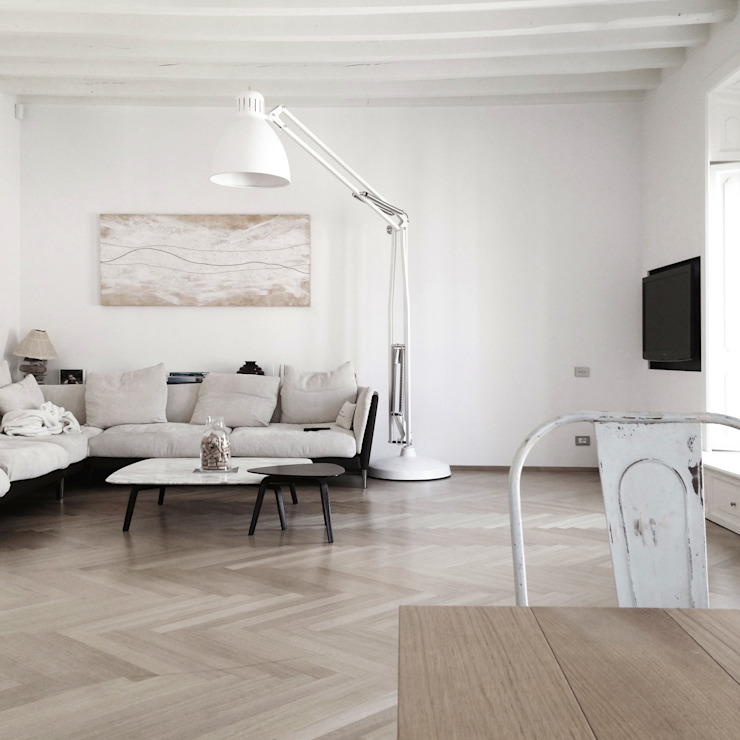 Living room by andrea borri architetti, Modern
