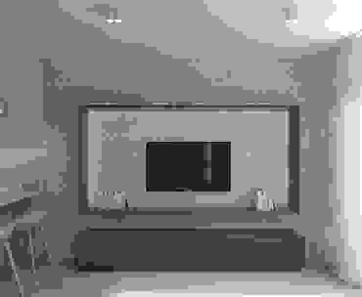 Salones de estilo minimalista de living box Minimalista