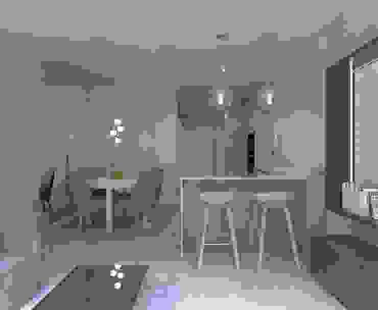 Cuisine minimaliste par living box Minimaliste