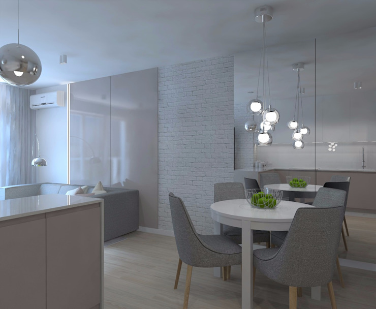 Salle à manger minimaliste par living box Minimaliste