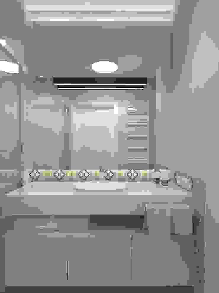 Baños de estilo minimalista de living box Minimalista