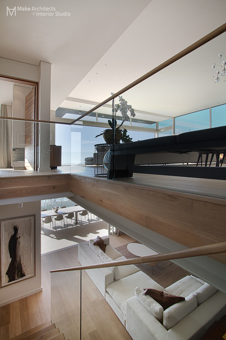 Hove Road Modern Corridor, Hallway and Staircase by Make Architects + Interior Studio Modern