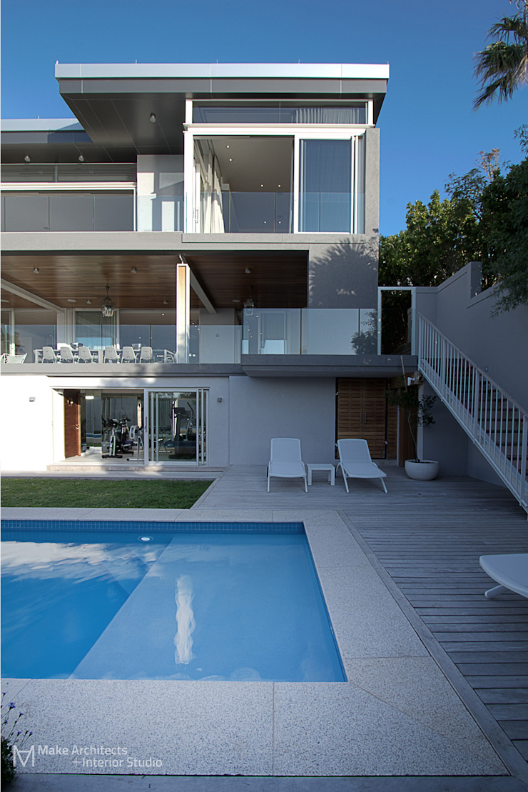 Hove Road Modern houses by Make Architects + Interior Studio Modern