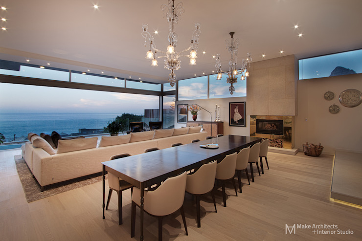 Hove Road Modern dining room by Make Architects + Interior Studio Modern