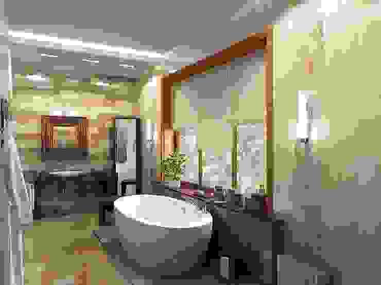 Baños de estilo tropical de LEO Company Tropical