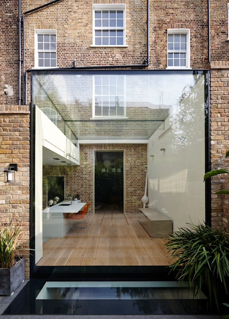 External photo Trombe Ltd Modern Kitchen Glass