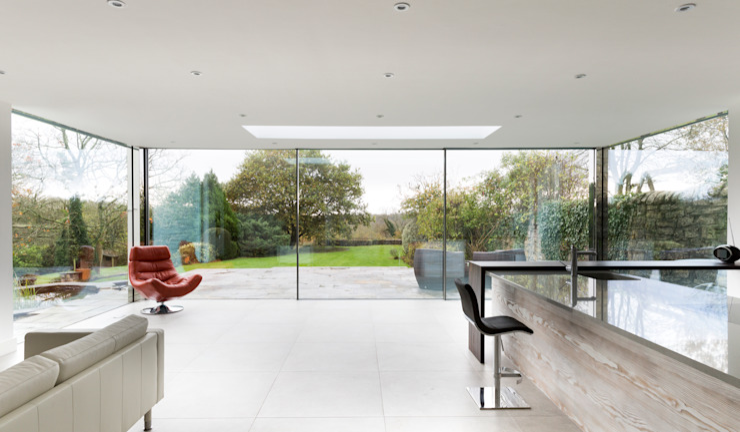 Internal photo Trombe Ltd Modern Kitchen