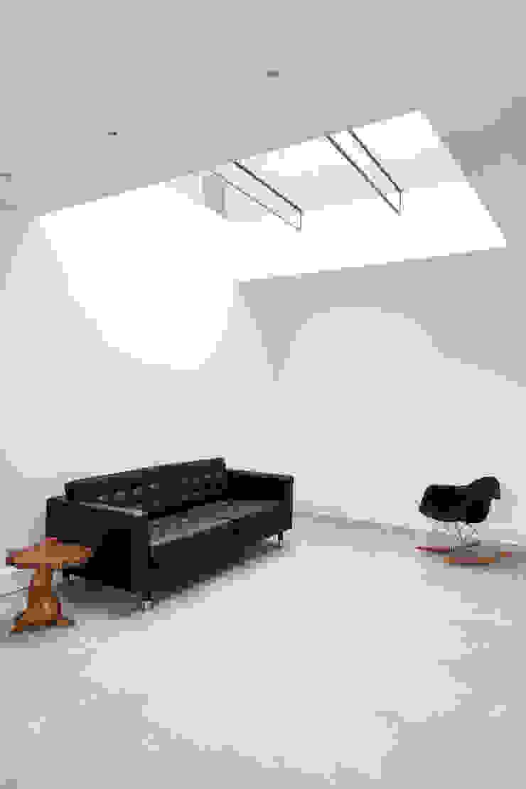 Internal shot Trombe Ltd Modern Living Room