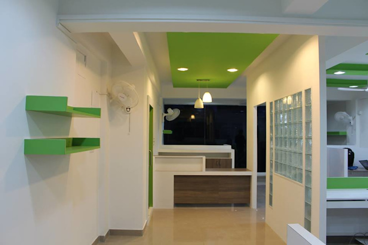 PROJECTS BY INDIGO CHILD Modern offices & stores by Indigo Child Projects and Implementation Modern