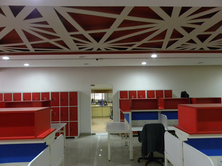 PROJECTS BY INDIGO CHILD Modern office buildings by Indigo Child Projects and Implementation Modern