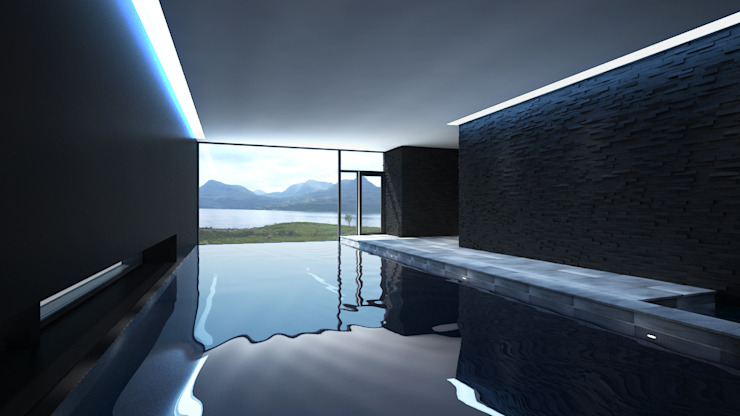 Stunning CGI di Aqua Platinum Projects Moderno