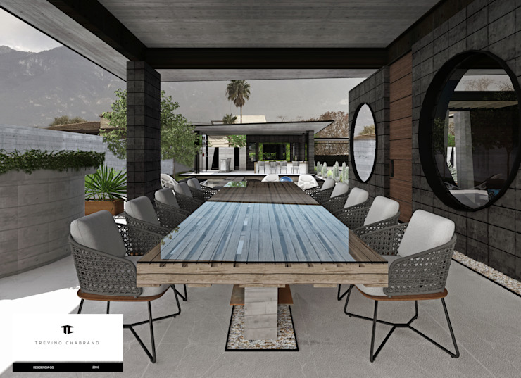 TREVINO.CHABRAND | Architectural Studio Modern dining room
