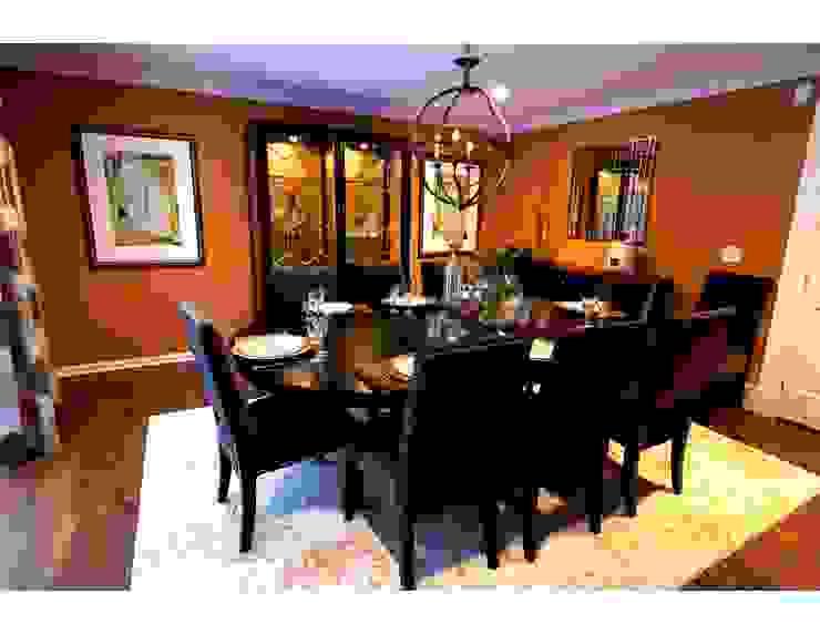 Lux Dining Room: classic  by Kay rasoletti Interior Design, Classic Copper/Bronze/Brass