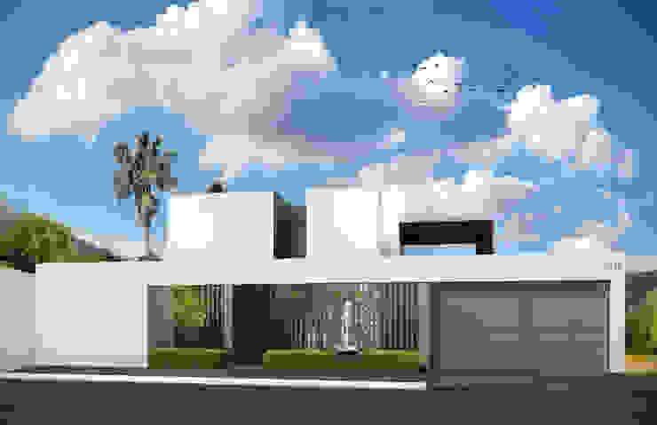 Fachada Principal Casas modernas de Estudio Volante Moderno