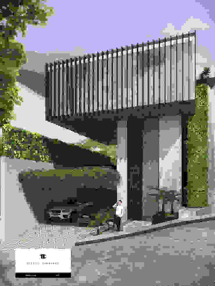 RESIDENCIA SH Casas modernas de TREVINO.CHABRAND   Architectural Studio Moderno