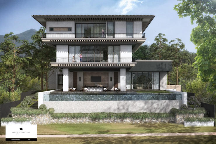 RESIDENCIA MISIONES Casas clásicas de TREVINO.CHABRAND | Architectural Studio Clásico