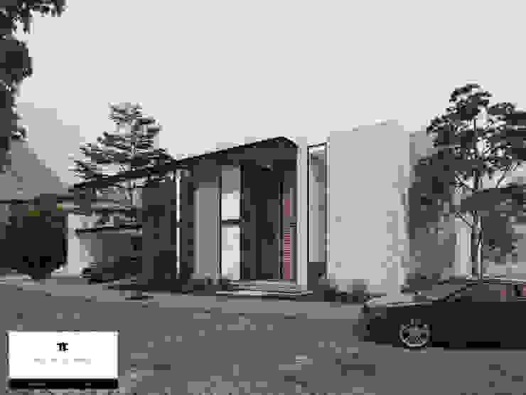 RESIDENCIA CORDILLERA Casas modernas de TREVINO.CHABRAND | Architectural Studio Moderno
