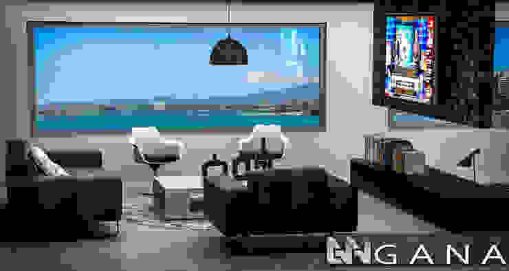 Grupo GANA, C.A. Modern style bedroom Aluminium/Zinc Grey