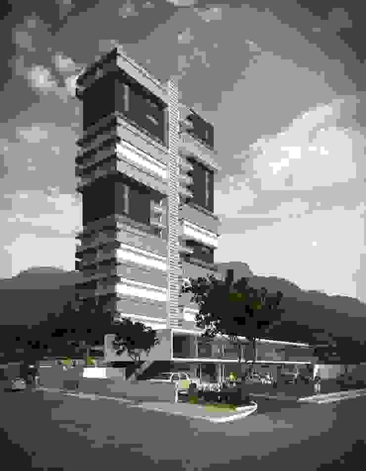 TORRE PANORAMA Casas modernas de TREVINO.CHABRAND | Architectural Studio Moderno