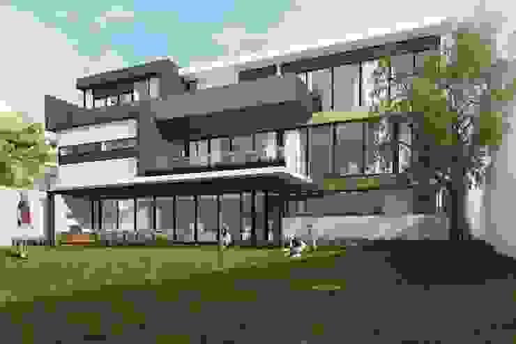 RESIDENCIA LA VENTANA Casas modernas de TREVINO.CHABRAND | Architectural Studio Moderno