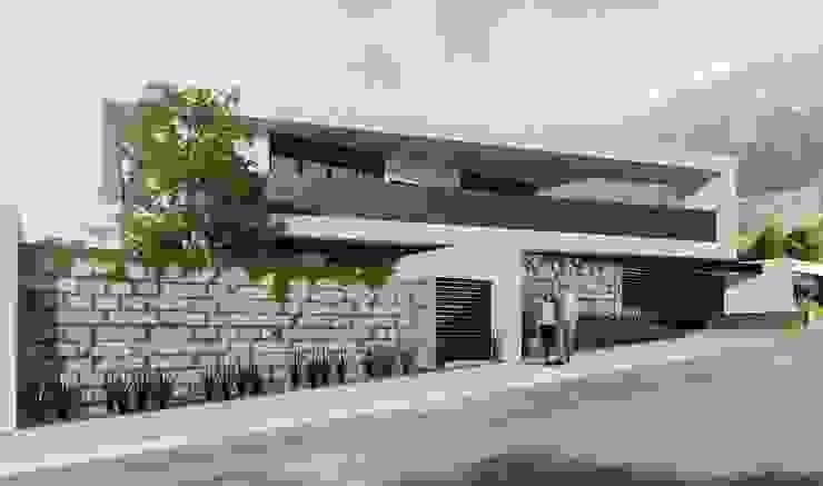 RESIDENCIA LA VENTANA Casas industriales de TREVINO.CHABRAND | Architectural Studio Industrial