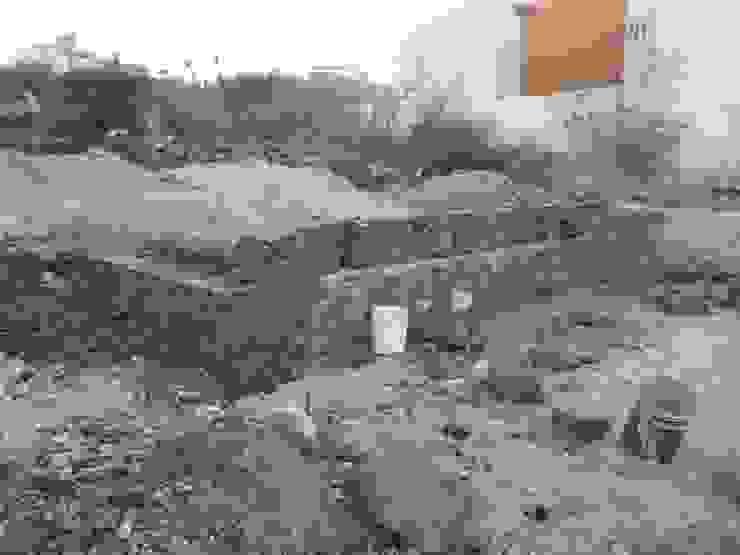 CIMENTACIÓN EN TERRENO ROCOSO de RyR Constructora