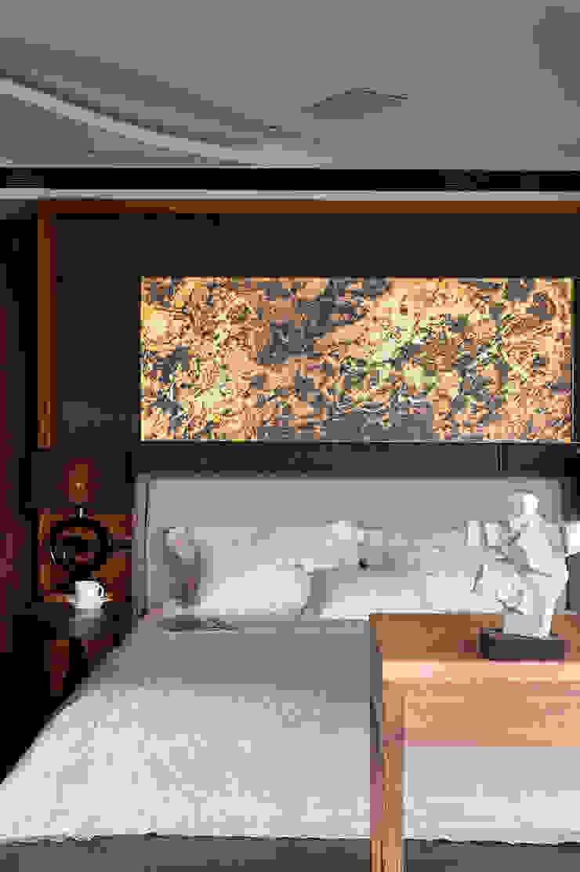 Asian style bedroom by DYD INTERIOR大漾帝國際室內裝修有限公司 Asian