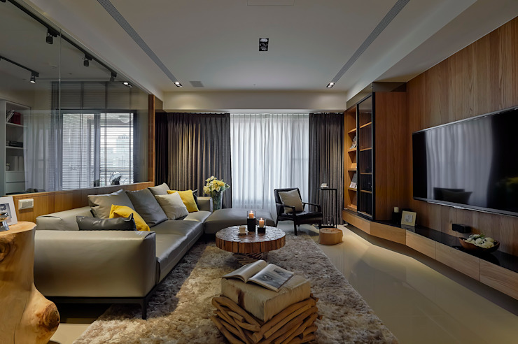 DYD INTERIOR大漾帝國際室內裝修有限公司 Modern living room