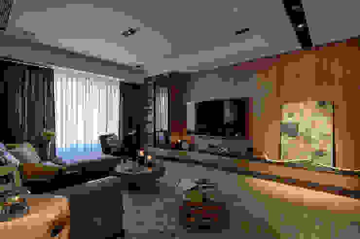 DYD INTERIOR大漾帝國際室內裝修有限公司 Salones de estilo moderno