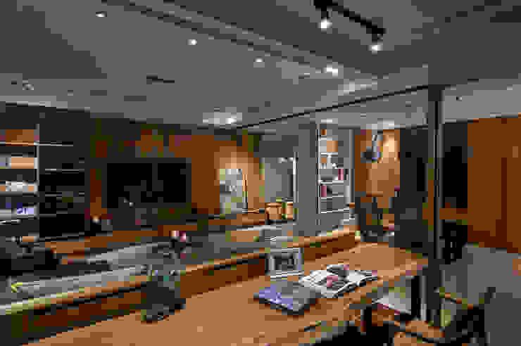 DYD INTERIOR大漾帝國際室內裝修有限公司 Modern style study/office
