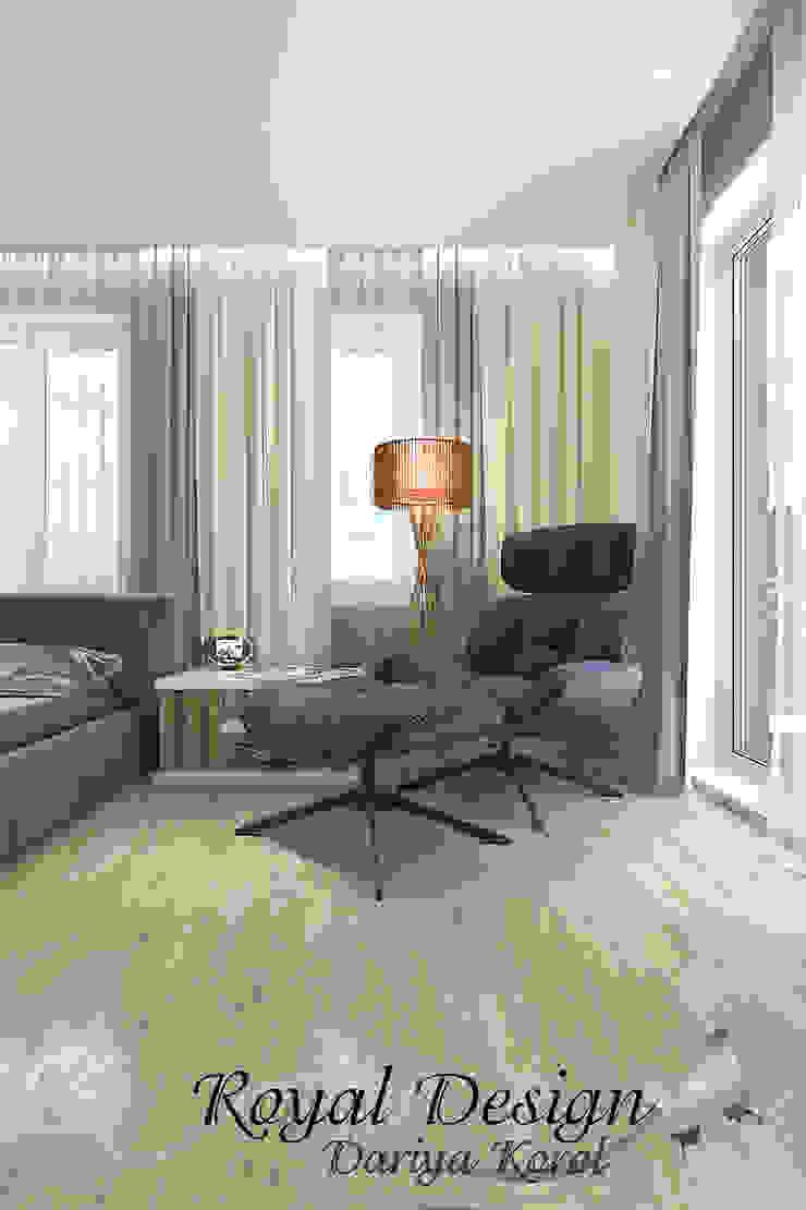 Your royal design Minimalist bedroom Beige