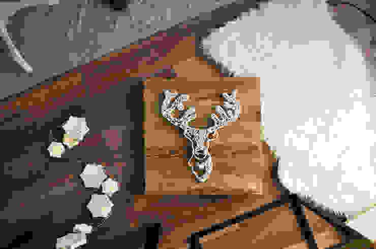 الاسكندنافية  تنفيذ Malning Interior Tomasz Pabin, إسكندينافي خشب Wood effect