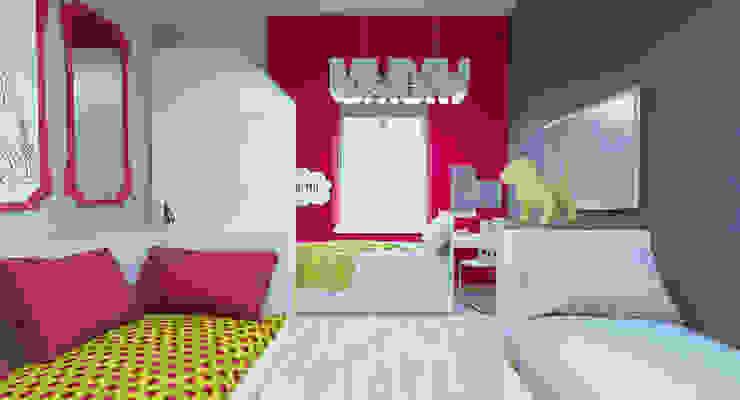 オリジナルスタイルの 寝室 の АртЭрия オリジナル