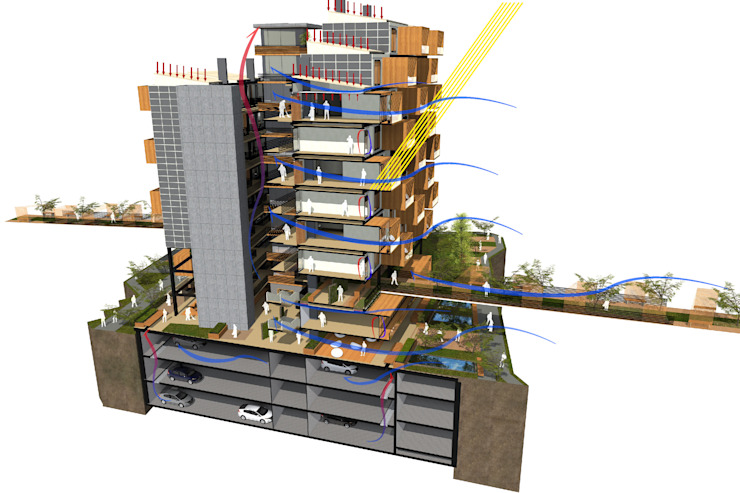 by AbiOS Estudio de Arquitectura Сучасний Бетон