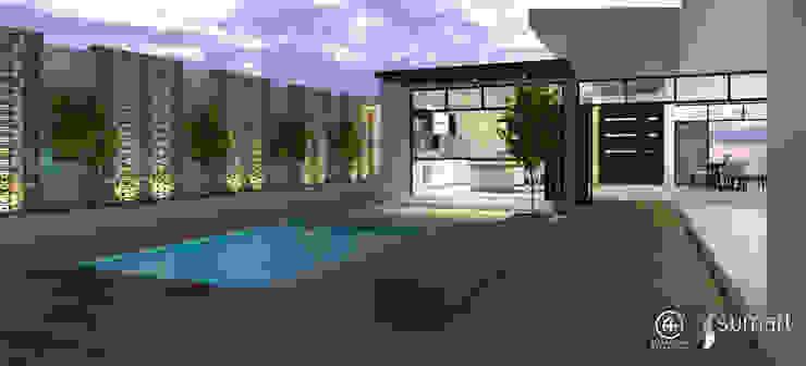 Arquitectura Positiva 泳池