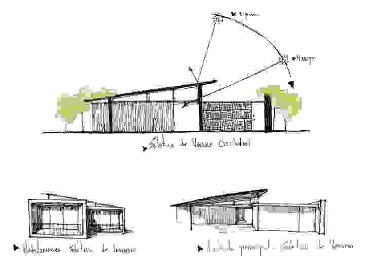 不拘一格  by Arquitectura Positiva , 隨意取材風