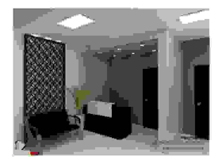 Diseño Interior- Consultorio Medico Estudios y despachos modernos de VIBO CONSTRUCTORA Moderno