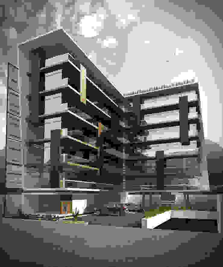 TORRE SIUZA Casas modernas de TREVINO.CHABRAND | Architectural Studio Moderno