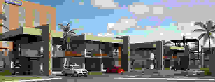 PLAZA POZA RICA Casas modernas de TREVINO.CHABRAND | Architectural Studio Moderno