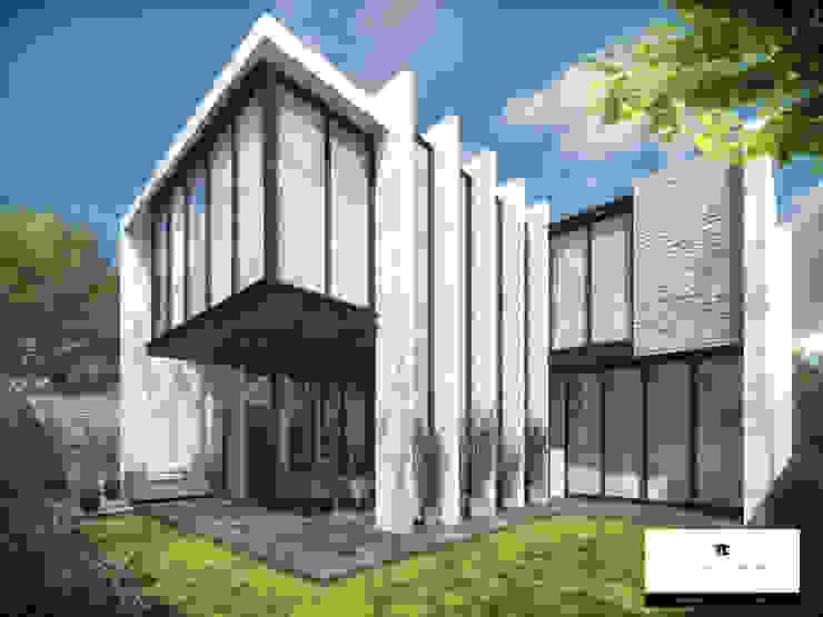 RESIDENCIA SH 2 Casas modernas de TREVINO.CHABRAND   Architectural Studio Moderno