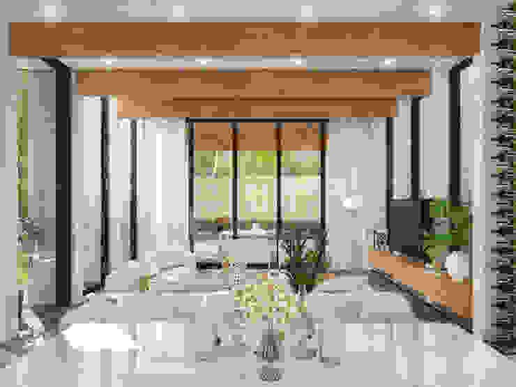 RESIDENCIA SH 2 Comedores modernos de TREVINO.CHABRAND   Architectural Studio Moderno