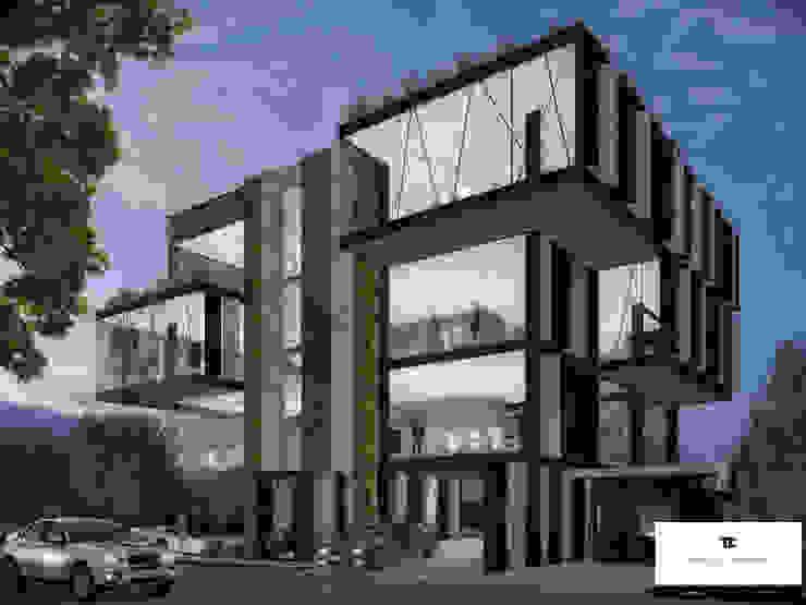 現代房屋設計點子、靈感 & 圖片 根據 TREVINO.CHABRAND | Architectural Studio 現代風