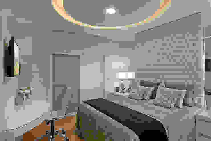 Chambre de style  par Arquiteto Aquiles Nícolas Kílaris,
