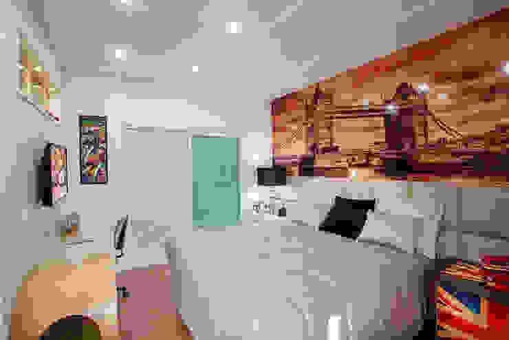 Casa Malibu Quartos modernos por Arquiteto Aquiles Nícolas Kílaris Moderno