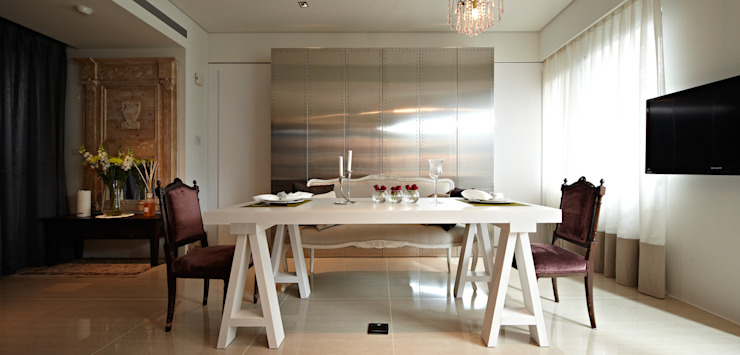 Eclectic style dining room by 大晴設計有限公司 Eclectic