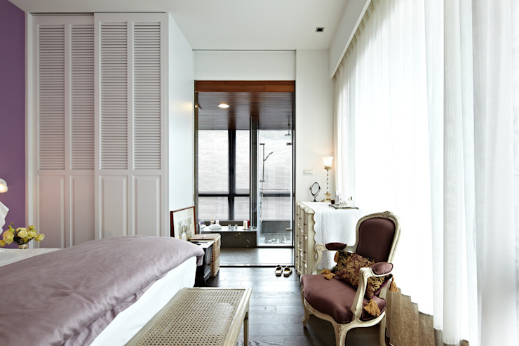 Eclectic style bedroom by 大晴設計有限公司 Eclectic